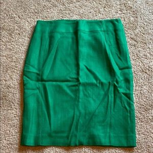 Boden Pencil Skirt in Bright Green